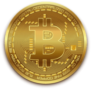 Bitcoin gold shiny