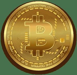 Bitcoin gold shiny