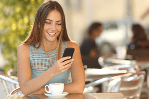 Connect with dine in customers